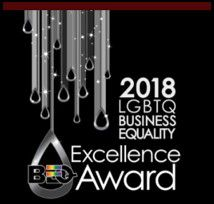 2018 LGBTQ Business Equality Excellence Award