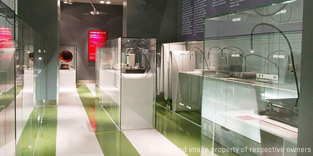 Museum Displays at TDK Hall in Milan
