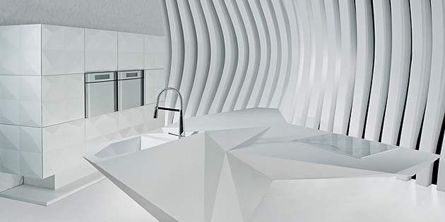 Corian® lets your ideas run wild with endless possibilities for lighting and texture