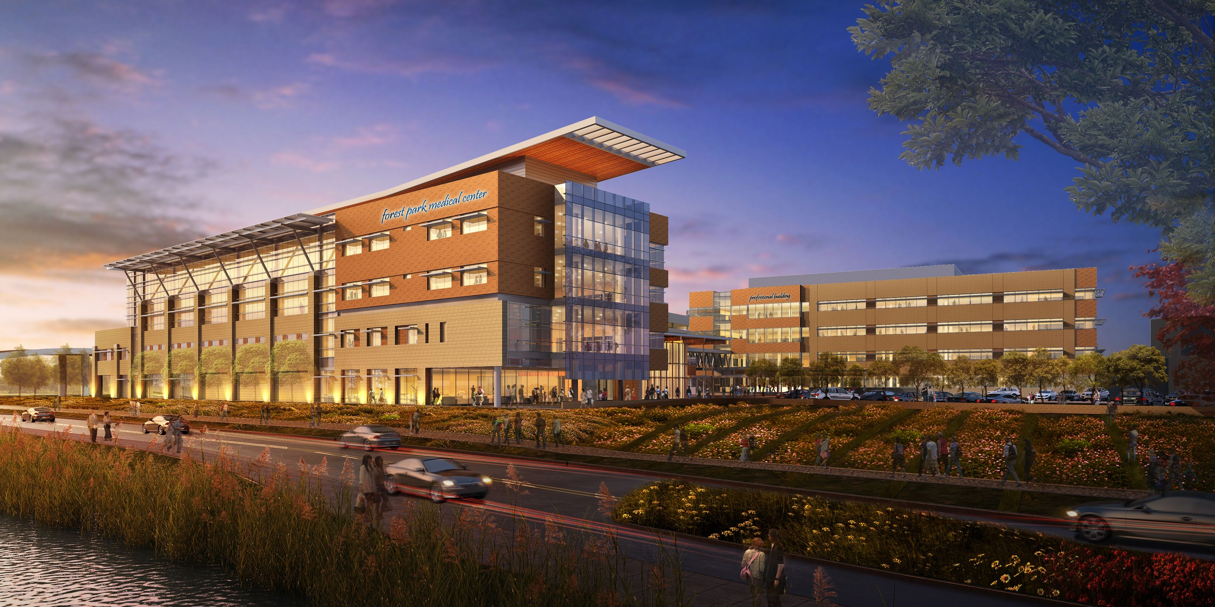 DuPont™ Tyvek® Fluid Applied WB and Forest Park Medical Center