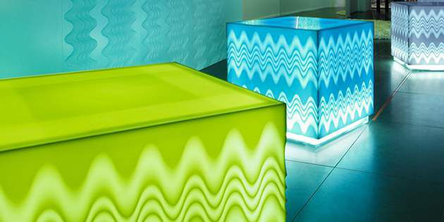 Saturated, muted, bold, understated — with the Colours of Corian®, designers hav