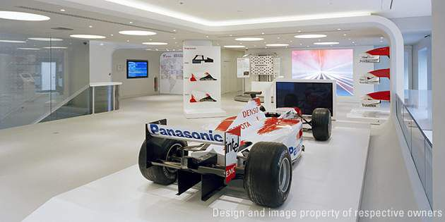 Rendez-Vous Toyota store, Paris, France; project by Ora-Ito; photo Jean-Pierre D