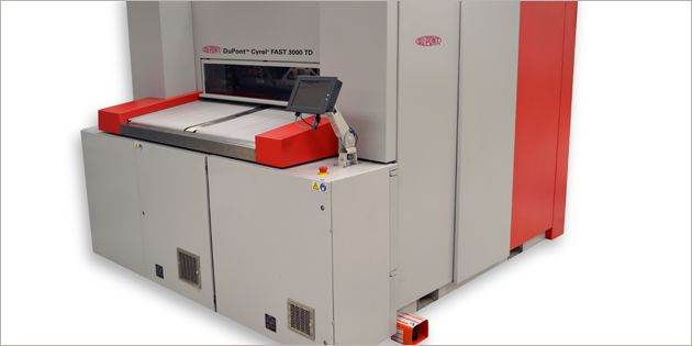 Large Format, Solvent-Free, Flexographic Plate Processor