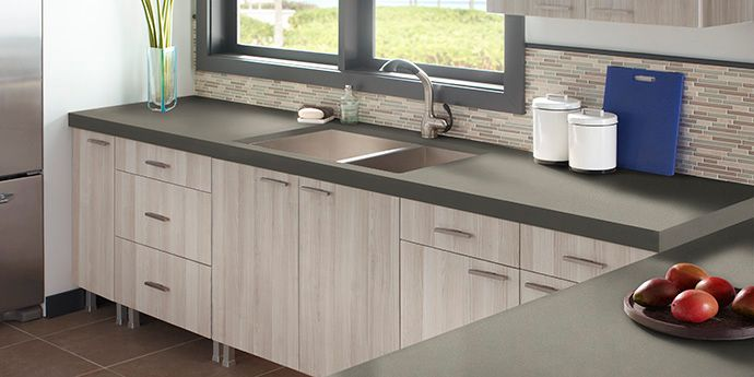Zodiaq® Graphite - Kitchen Application