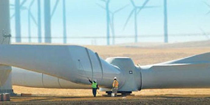 Tedlar® used as a protectiive film on wind turbine blades