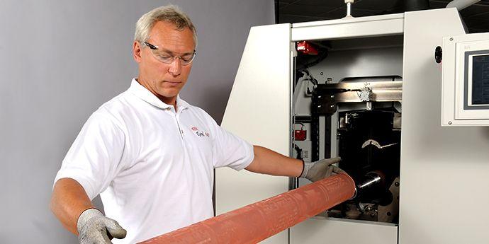 Cyrel® FAST 无缝套筒和Cyrel® 溶剂型无缝套筒系统是完整的数字套筒生产解决方案