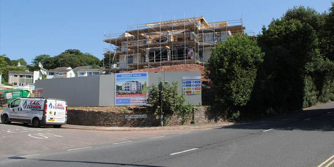 Tyvek® Reflex protects new build apartments in Torquay against coastal weather conditions