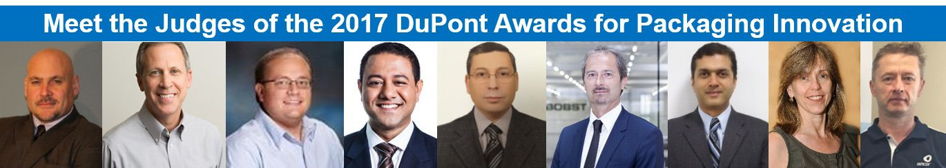 2017 Judging Panel - DuPont Awards for Packaging Innovation