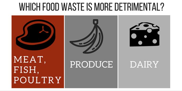 Which Food Waste is More Detrimental?