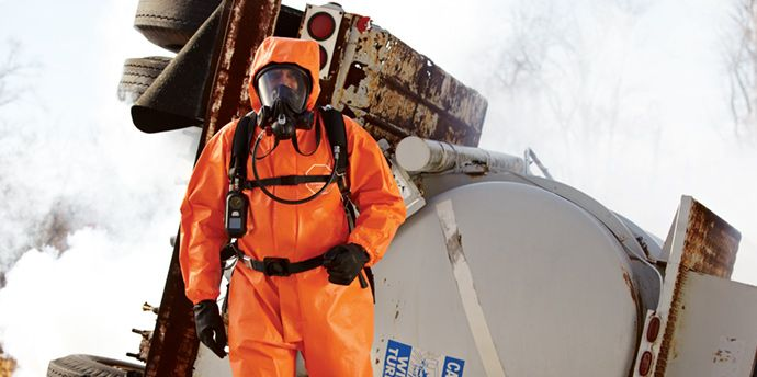 DuPont™ Tychem® ThermoPro helps provide triple hazard protection from liquid-che