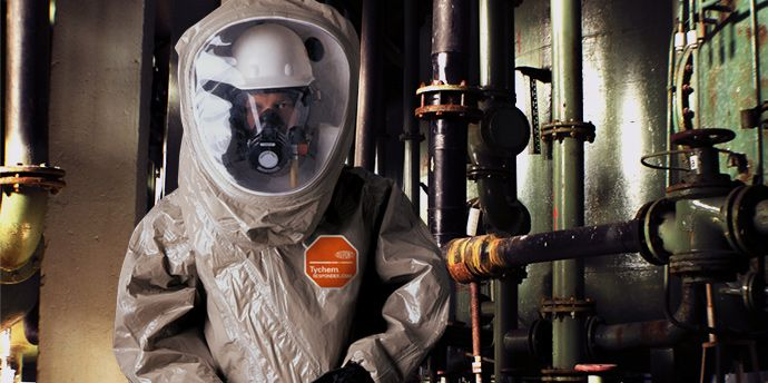 DuPont™ Tychem® Responder® CSM helps provide comprehensive toxic protection.