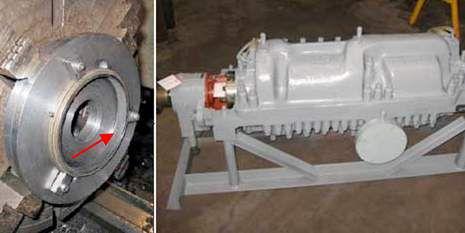 Vespel Boiler Feed Pump