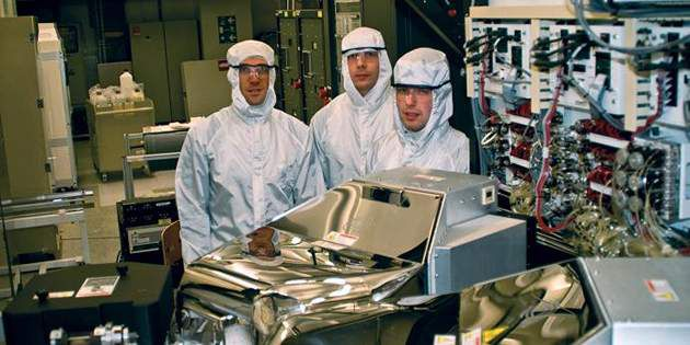 Clean Room environments to avoid wafer contamination