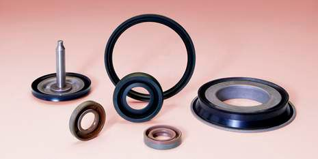 Bonded piston seals made of Vamac® deliver high-temperature durability.