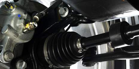 Hytrel® thermoplastic elastomer is ideal for chassis suspension components.