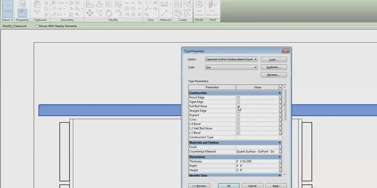 Corian® and Zodiaq® on Design Software Tools