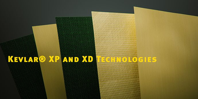 DuPont™ Kevlar® XP™ for soft armor provides lighter weight and reduced back face
