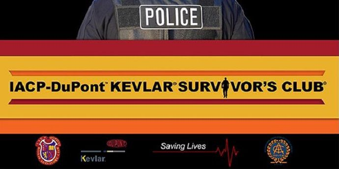 IACP/Kevlar Survivors' Club Banner
