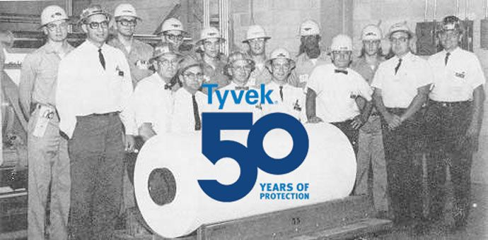 DuPont™ Tyvek® 50th Anniversary First Roll