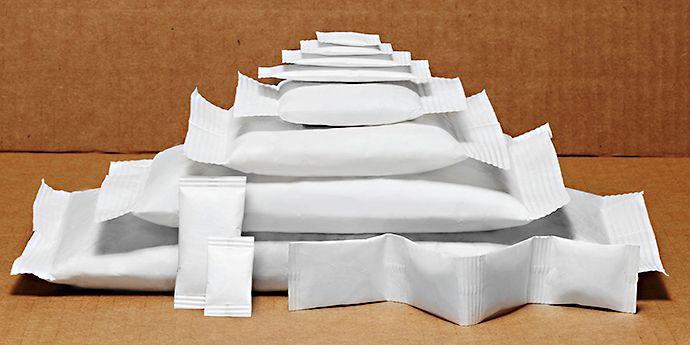 杜邦™ Tyvek® 特卫强® 品牌材料制成的活性剂包装袋