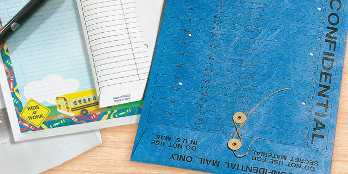 Tyvek® 特卫强® 制成各种专用信封与封套