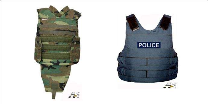 DuPont™ Kevlar® & Armourshield UK Ballistics Protection