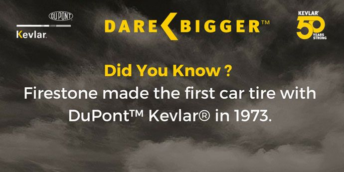 Kevlar® Did You know? Firestone Tires