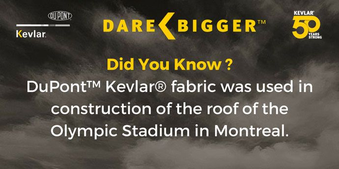 Kevlar® Did You know? Olympic Stadium