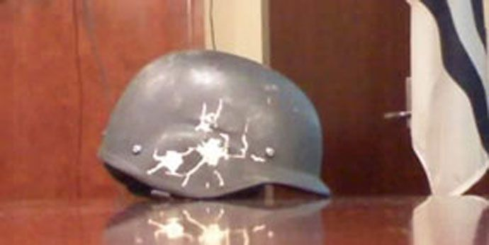 Daniel Kowalski Helmet