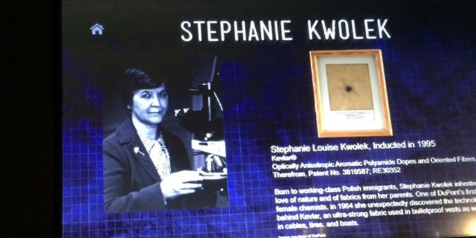 Stephanie Kwolek Exhibit