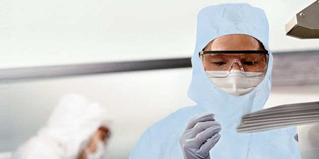 Cleanroom Apparel | Tyvek® Micro-Clean® 2-1-2