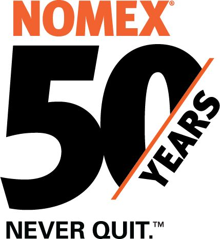 Nomex 50th Anniversary Logo