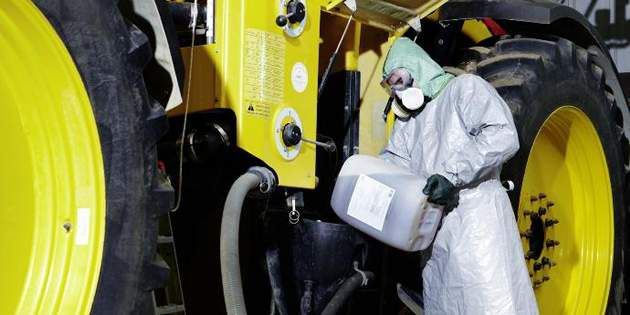 DuPont protective garments are used for protection in agricultural markets.