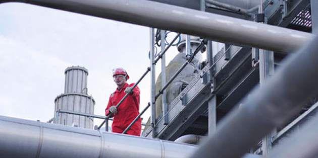 用了杜邦™ Nomex® 纤维制成的高温烟气过滤的施工现场