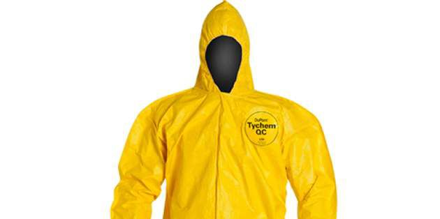 DuPont™ Tychem® QC helps provides versatile chemical protection.
