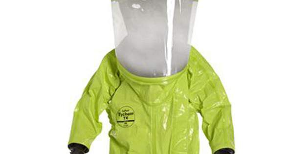 DuPont™ Tychem® TK is well-suited for high-visibility HAZMAT protection.