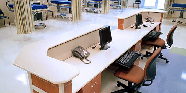 Design de interior do Denton Presbyterian Hospital
