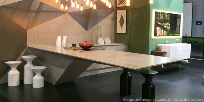 Corian® na Expo Revestir por Infinita Surfaces