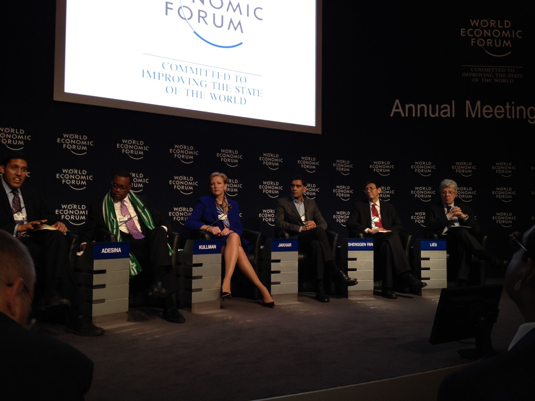 DuPont CEO Provides Point of View on Global Food Security at World Economic Forum