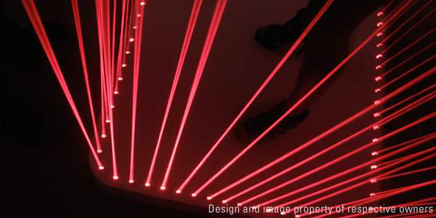Disco Table, design and photo Moritz Waldemeyer