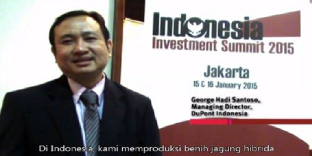 Video collection from DuPont Leader at Indonesia Investment Summit 2015