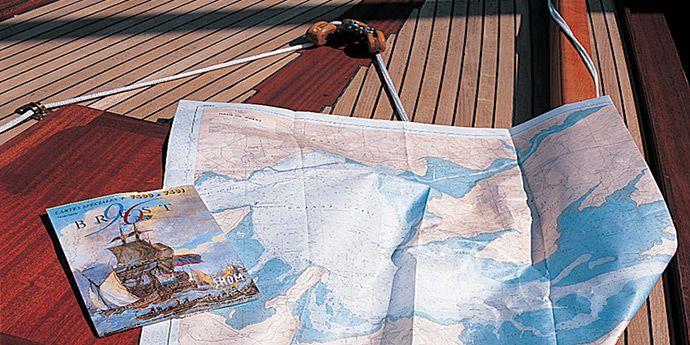 杜邦™ Tyvek® 特卫强® 材料所印刷的地图