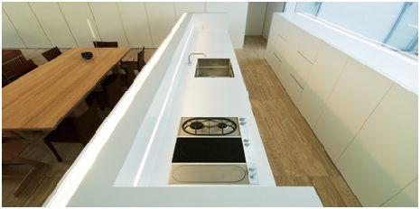 M先生住宅可丽耐®厨房台面设计