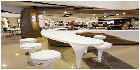 悉尼国际机场Imbibe酒吧吧台设计