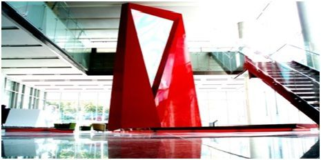 首尔东部Fursys火红形象塔