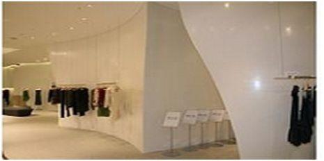 LG时尚店可丽耐®店面背景墙设计