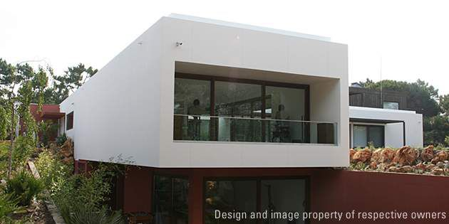 Private Residence Architectural Design With Exterior Cladding Dupont United Kingdom
