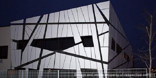 Modula总部,意大利科里德尼亚;项目设计:Mario Montalboddi e Michele De Angelis;拍摄:Modula