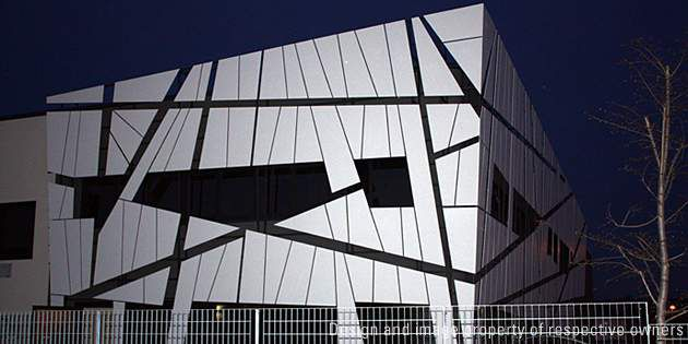 Modula headquarters, Corridonia (Macerata), Italy, project by Mario Montalboddi