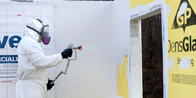 Tyvek ® Fluid Applied WB+ ™ Sprayer